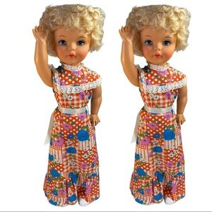 2 Reliable I Walk 1960's Doll 2 Feet Tall Blonde